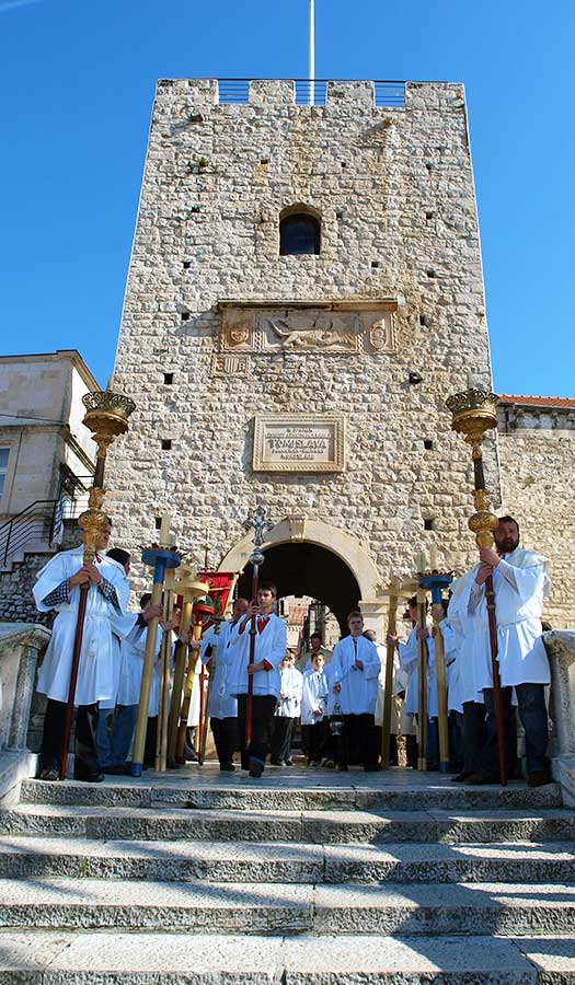 Confraternities procession - Korcula