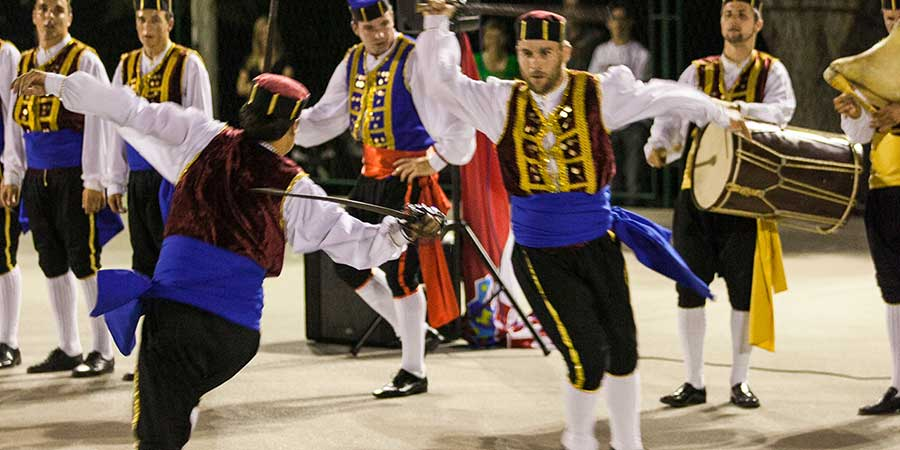The Sword Dance festival - Kumpanija from Čara - Korcula