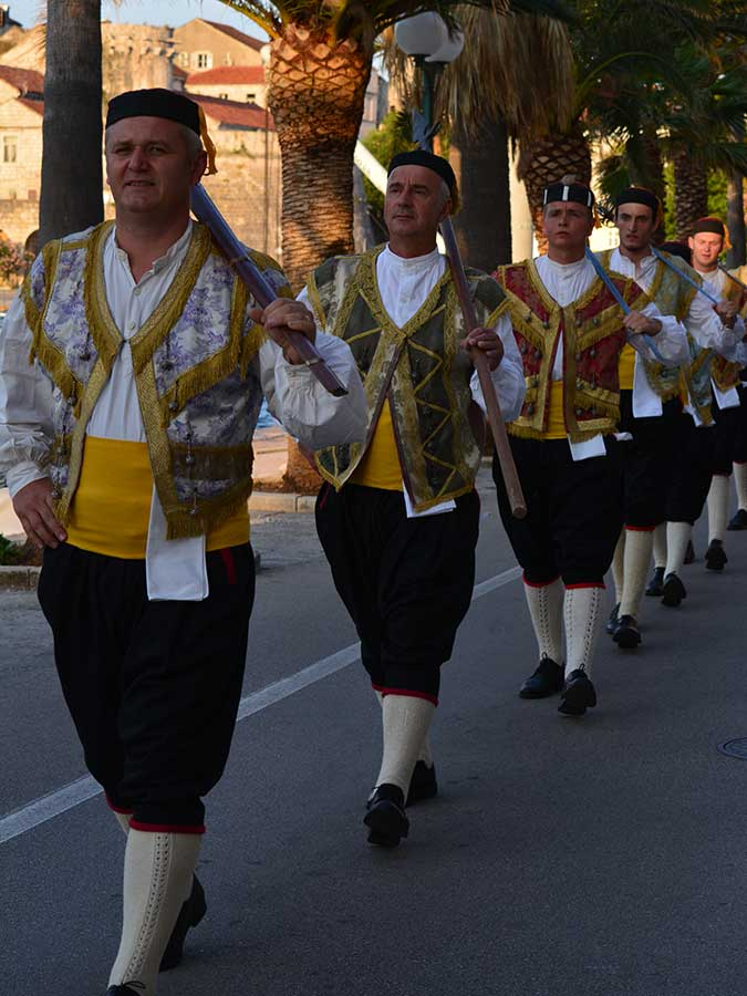 The Sword Dance festival-Kumpanija from Pupnat-Korčula
