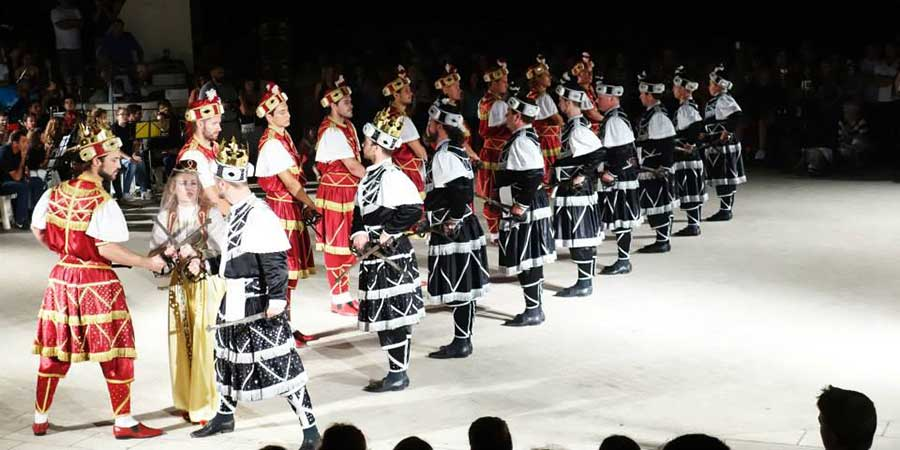 The Sword Dance Festival-KUD Moreska-Korcula