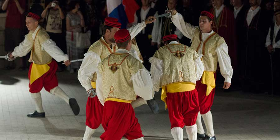 Moštra-The Sword Dance festival-Korčula